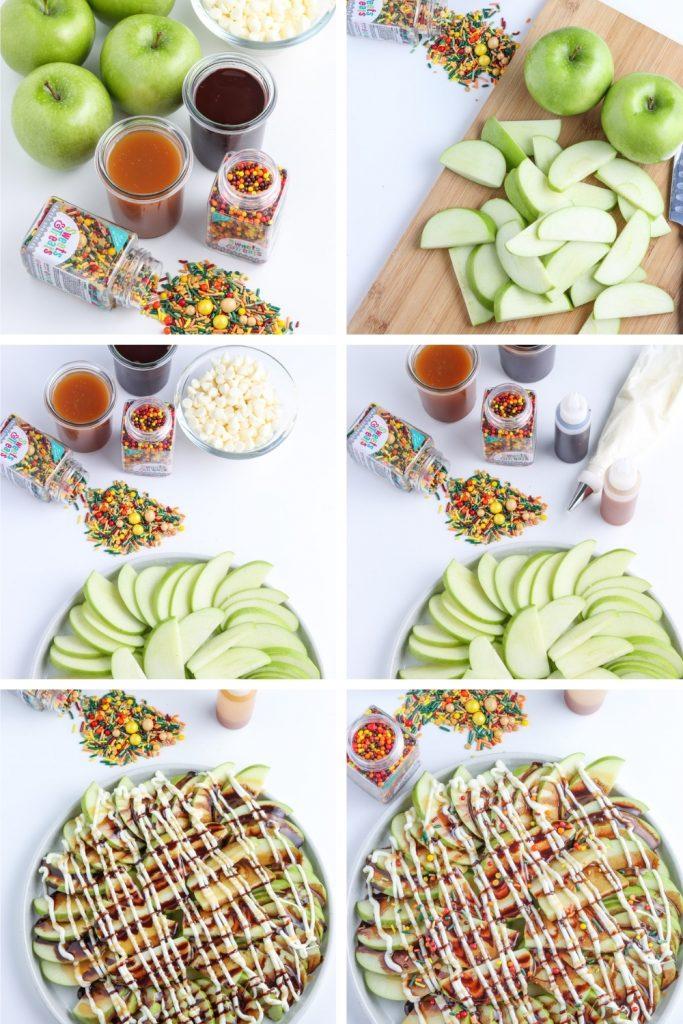 steps for apple nachos recipe for fall