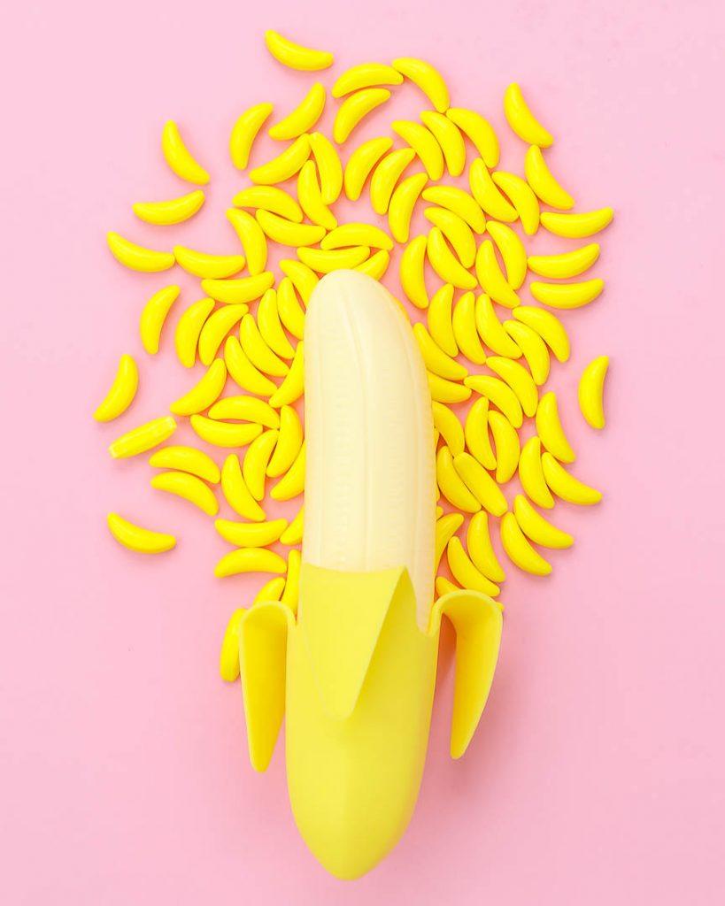 Banana Candy Shapes Sprinkles - Sweets & Treats