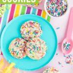 birthday funfetti cake mix cookies with our birthday cake sprinkles
