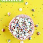 homemade nonpareils candy tutorial graphic