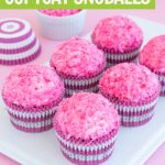 copycat snowballs cupcake recipe graphic