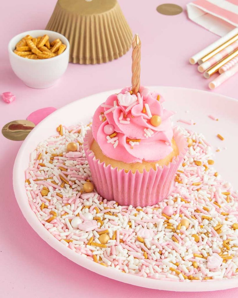 Pink and gold princess party ideas