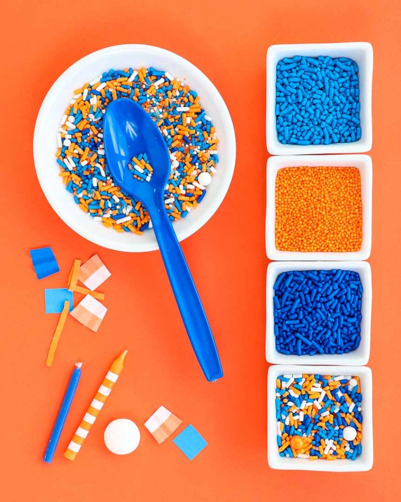 Foam Pit Nerf Inspired Party Ideas - Sweets & Treats