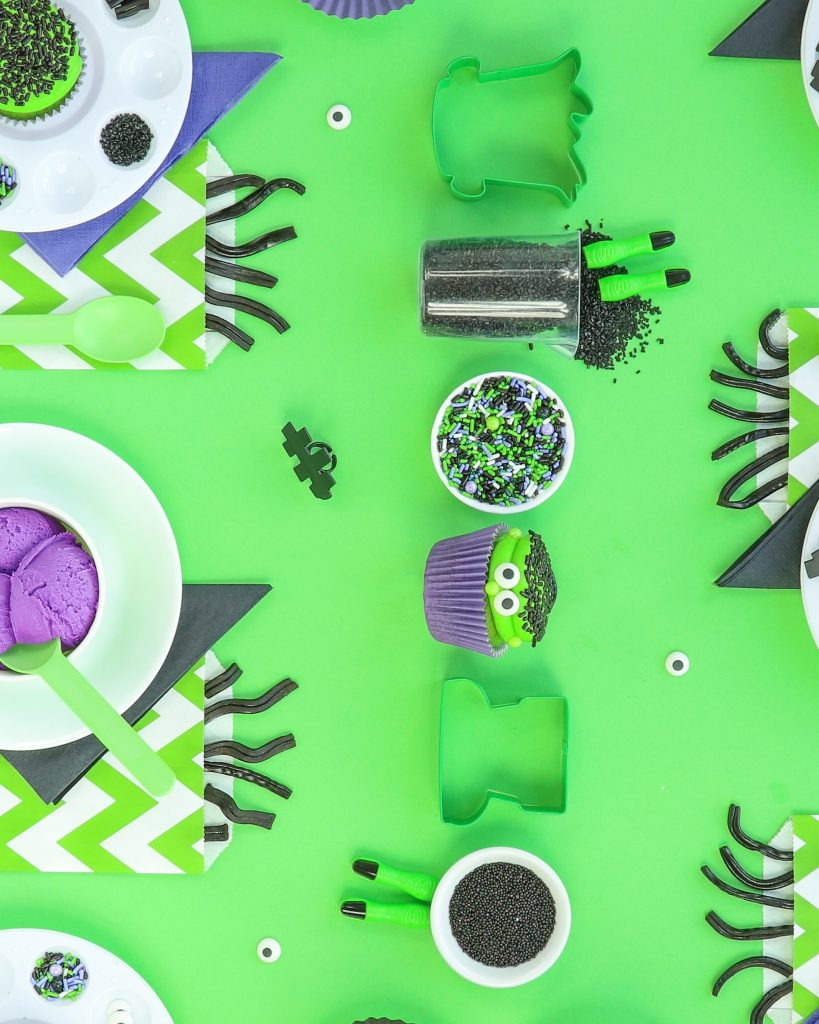 Frankenstein Kids Halloween Party Ideas - Place Settings