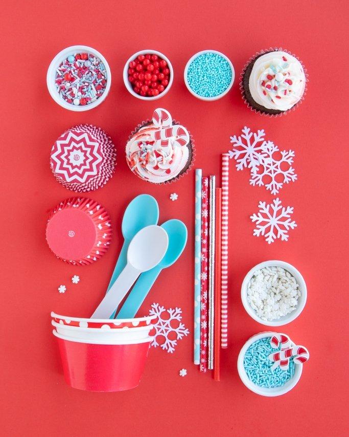 winter wonderland party supplies, winter birthday party supplies