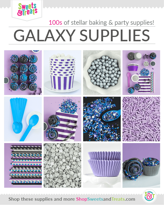 Galaxy Party Supplies - Outer Space Party Supplies collage