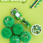 grass cupcakes tutorial