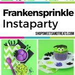 Kids Halloween Party Ideas - Frankenstein Halloween Party collage