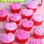 heart cupcakes tutorial graphic