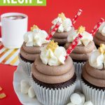 Hot Chocolate Cupcakes Recipe with Cocoa Icing