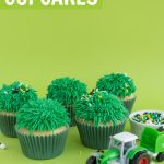 how to make grass cupcakes for tractor cupcakes