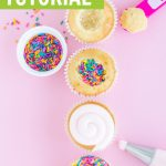 How to make pinata cupcakes tutorial