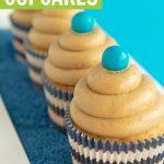 fall maple cinnamon cupcakes recipe on navy sprinkles