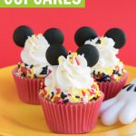 Mickey mouse cupcakes ideas using sprinkles and candy melts