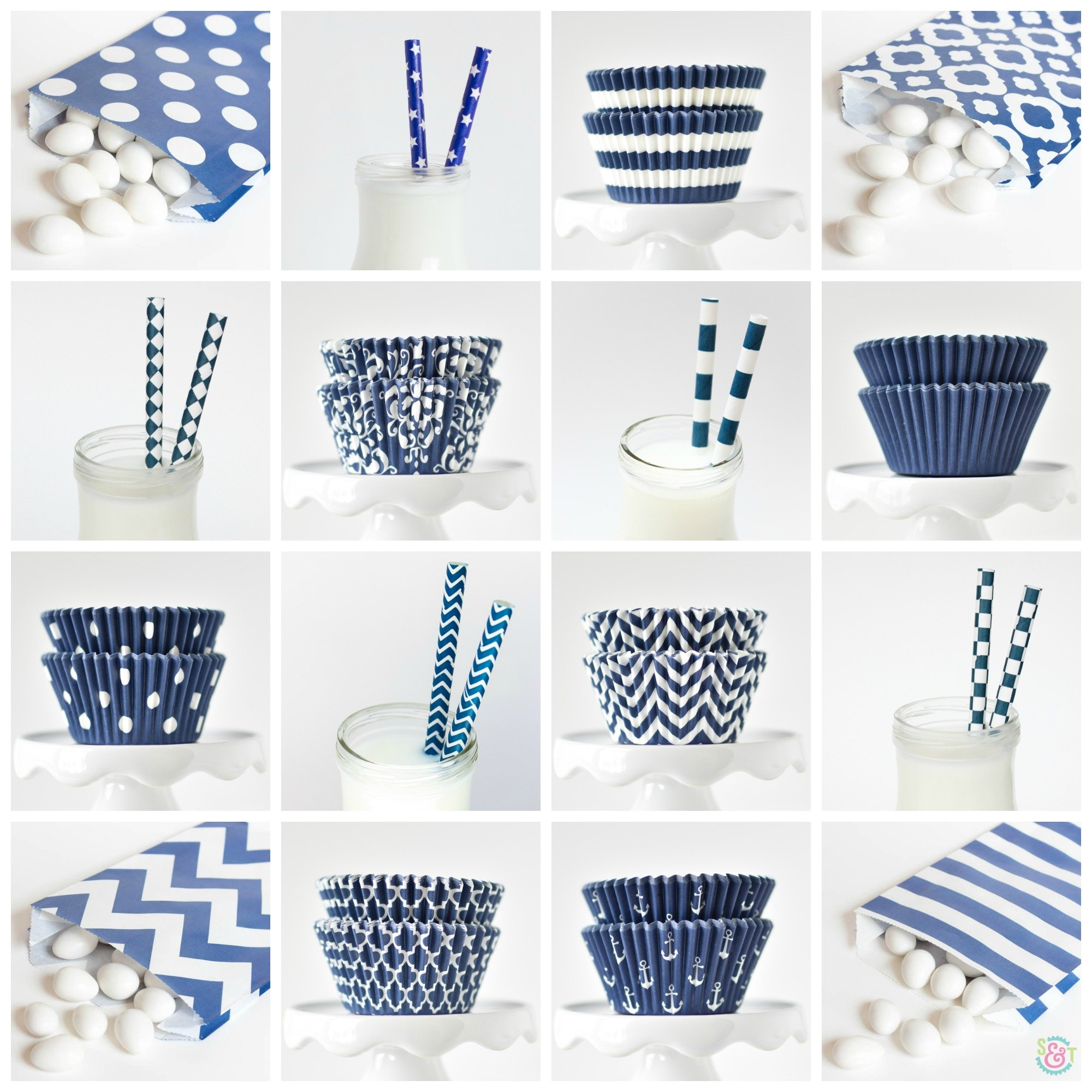Navy Party Supplies image