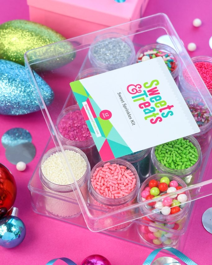 Merry & Bright Christmas Sprinkle Mix Kit