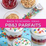 graphic for pb&j parfait recipe