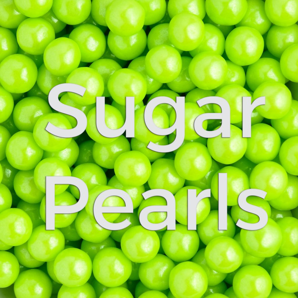 Lime Sugar Pearls