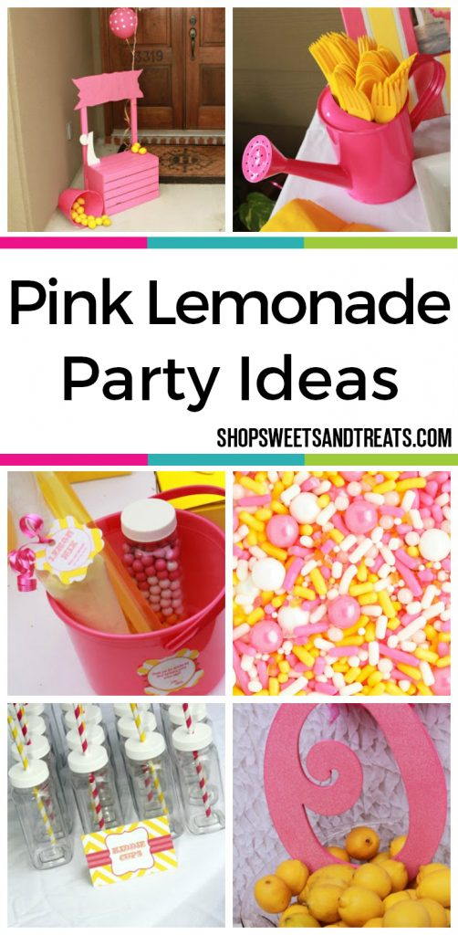Pink Lemonade Party Ideas - Pink & Yellow