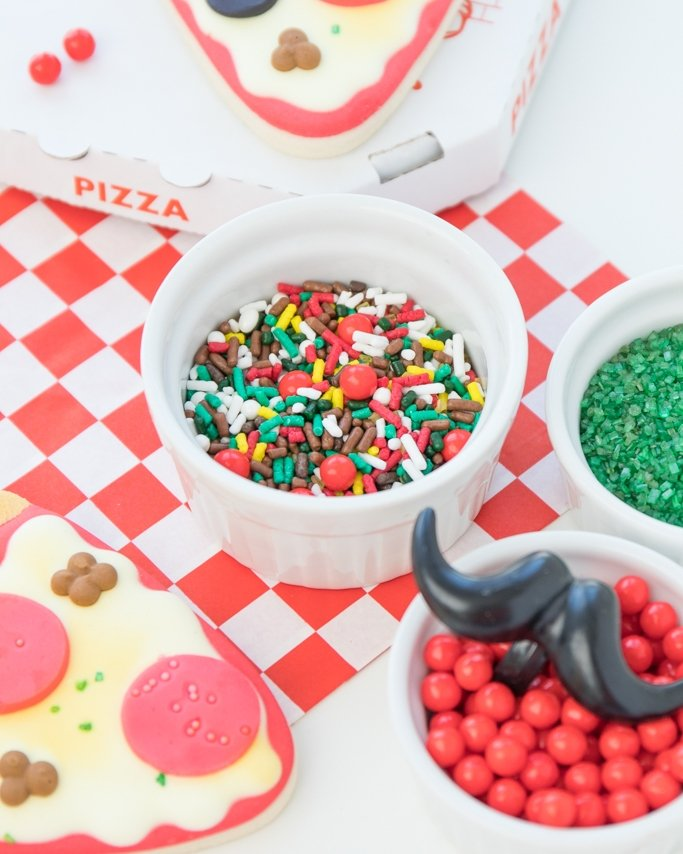 Pizza sprinkle mix.