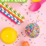 Rainbow party ideas and rainbow party supplies post