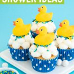 Rubber duck baby shower ideas and party supplies post