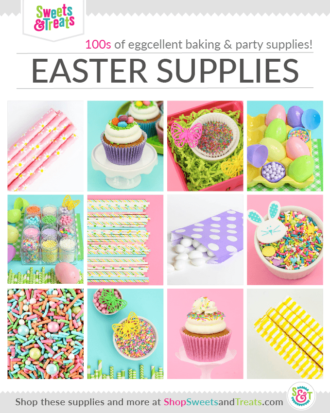 Easter Party Supplies collage