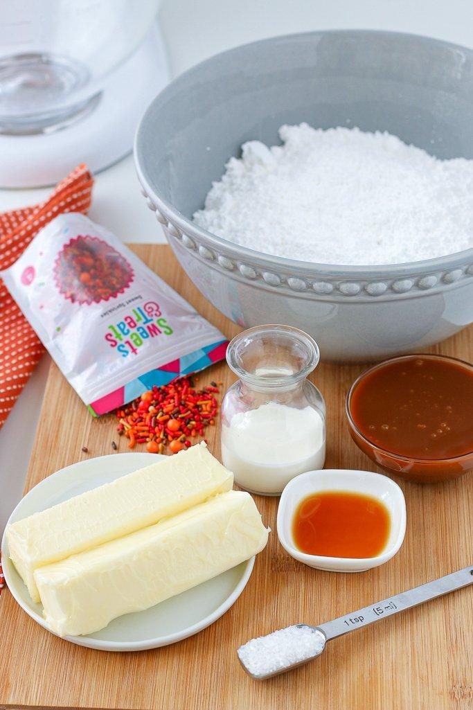 salted caramel icing recipe ingredients