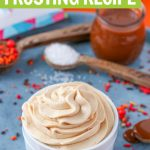 salted caramel icing recipe full of fall flavor