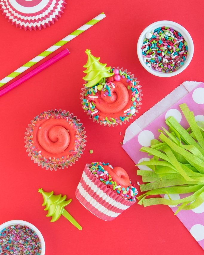 Christmas Cupcakes and Christmas Baking Supplies