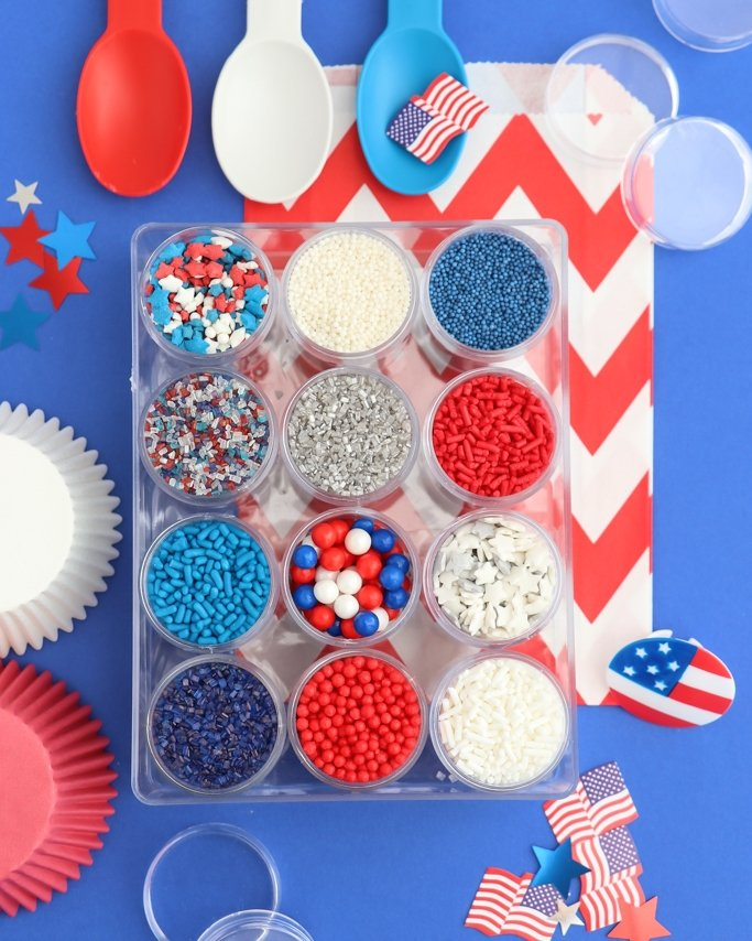 4th Of July Sprinkles.