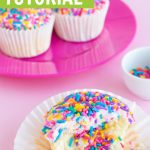 surprise pinata cupcakes tutorial