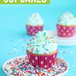 Easy vanilla cupcake recipe from scratch